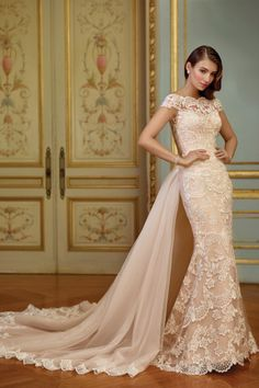 Browse beautiful wedding dresses and find the perfect gown to suit your bridal style. Filter by designer, silhouette or type to find your perfect dress. Mon Cheri Wedding Dresses, Spring 2017 Wedding Dresses, New Wedding Dresses, Bridal Dresses, Formal Dresses, Dresses Uk, Spring Wedding, Tulle Dress, Lace Dress
