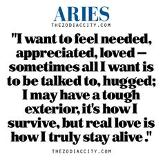 Zodiac Aries thought.