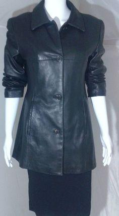 MARC NEW YORK Andrew Marc Leather Jacket Medium | Clothing, Shoes & Accessories, Women's Clothing, Coats & Jackets | eBay!