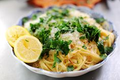 Baked lemon pasta - it's what's for dinner!