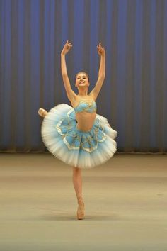 Miko Fogarty in one of her amazing ballet costumes