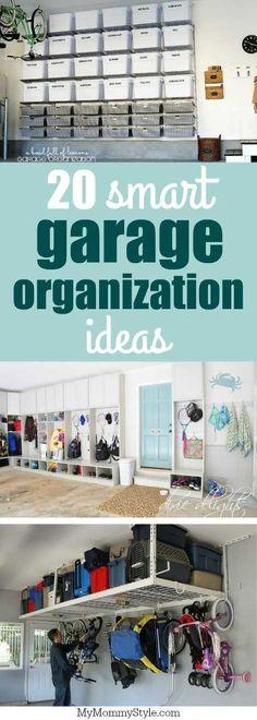 20 smart garage organization ideas