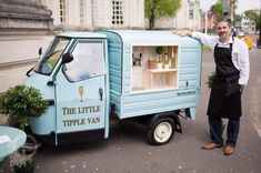This cute little prosecco van is serving up bubbly at festivals ...