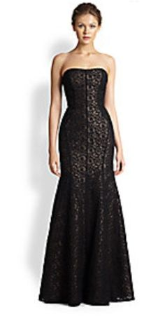 Lace gown saks fifth avenue