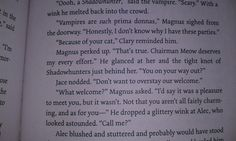 City of Bones - the beginnings of MALEC! (still a yet to read (: