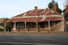 An old house in Lancefield, Victoria Australia--photo by Bonnie Griffiths
