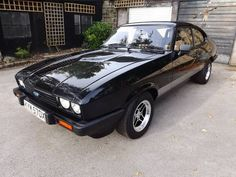 1981 Ford Capri 3.0S. Back in the real world, this is my favourite car after the Shelby GT500. Such an awesome car. Cue J-Turns, Burnouts and Jumps and pretend your Bodie from The Professionals in one of these.