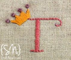 Free Hand Embroidery Alphabet Patterns