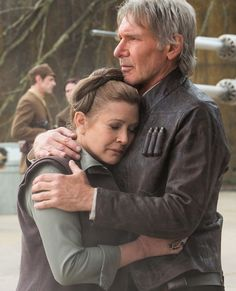 Leia: After all these years I still hate to see you go. Han: Why do you think I do it? So you'll miss me.  So sad that Han dies