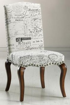 This would be a beautiful home office chair