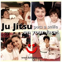 Ju jitsu puts a smile on your face! Dai-Ki Dojo jiu jitsu Academy.