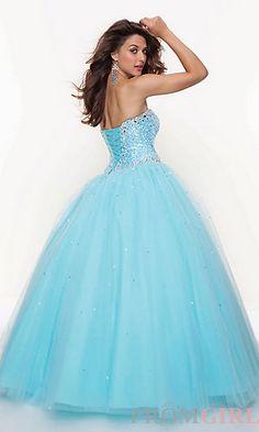 pretty prom dress:)