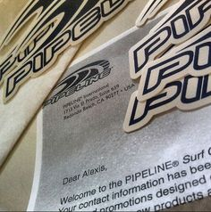 Any Pinterest fans who want to join the PIPELINE Clothes & Gear Surf Club go to www.pipelinegear.com today and get some FREE stickers. You'll also get exclusive member-only benefits including discount codes for the PIPELINE online store...plus some more FREE stuff. And tell all your friends!
