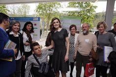 """Doña Letizia acudió para la Clausura del """"III Congreso Educativo Internacional sobre Enfermedades Raras"""" a Bilbao. 21-04-2016"""