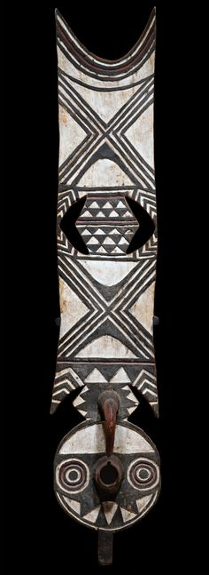 ☆  Africa | Mask from the Bwa people of Burkina Faso | wood and paint