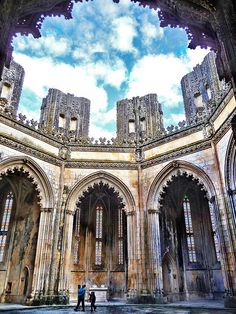 Unfinished Chapels Batalha #Portugal