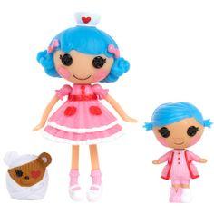 Mini Lalaloopsy Littles Rosy Bumps 'n' Bruises and Mini Lalaloopsy Stumbles Bumps 'n' Bruises Dolls: Character Corner : Walmart.com