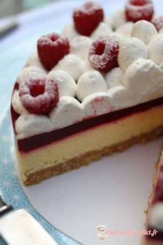 Délice passion framboise | PatisserieAddict.fr