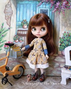 Blythe or Pullip Dress. Fits Neo Blythe Licca and similar