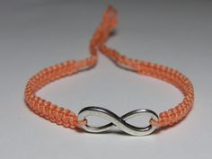 Infinity Bracelet by ByKarianne on Etsy, kr55.00