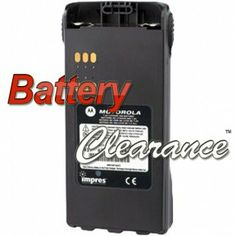 Motorola HNN4003BR: This HNN4003BR is a MOTOROLA ORIGINAL IMPRES SMART BATTERY. 7.5 Volts, 2500 Milliamps, Lithium Ion Chemistry. The HNN4003BR was also known as HNN4003A, and HNN4003B.