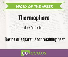 CCO Community free resources Thermophore
