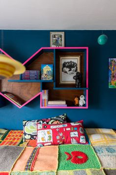 Colourful kids room!