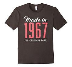 Men's 50th Birthday gifts shirt Made in 1967 50 year old ... https://www.amazon.com/dp/B06WVD6PMB/ref=cm_sw_r_pi_dp_x_B1UPybXJV7ZVS