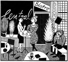 TagNacht by Katrin Stangl #Illustration