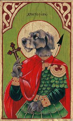 St. Christopher by thornwolf.deviantart.com on @deviantART
