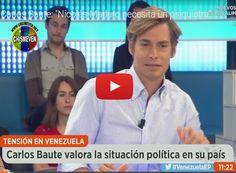 Carlos Baute entrevistado en España acerca de Venezuela  http://www.facebook.com/pages/p/584631925064466