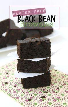 Gluten-Free Black Bean Brownies // thehealthymaven.com #glutenfree