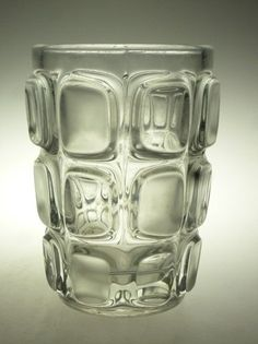 Czech art glass vase Vizner Sklo Union