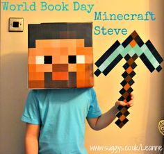 DIY Costumes – How to make a Easy and Quick Minecraft Steve Costume for FREE