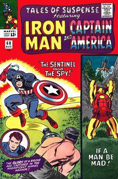 Tales of Suspense #68 Iron Man Captain America Marvel Comics Cover