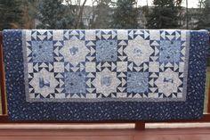 ALASKAN BOG - by Antler Quilt Design Queen Quilt   Large Full Quilt Minnesota Winter by MeandMomQuilt, $675.00