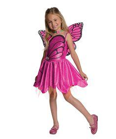 Look at this #zulilyfind! Barbie Mariposa Dress-Up Set - Toddler & Girls by Barbie #zulilyfinds