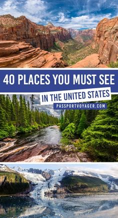 The Ultimate USA Travel Bucket List Passport Voyager : Explore the best of the United States on your next trip! Check out this awesome guide on the best places to visit in United States, featuring the most unique, beautiful destinations in the USA to add Travel Blog, Travel Usa, Travel Tips, Travel Goals, Disney Travel, Food Travel, Travel Info, Travel Packing, Travel Essentials