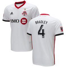 Michael Bradley Toronto FC adidas 2018 Secondary Replica Player Jersey –  White e846d8932