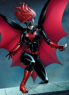 Ula Mos [link] knocked another color job out of the park for our client on this Batwoman commission! Batwoman by Jason Metcalf and Ula Mos Marvel Dc Comics, Comics Anime, Dc Comics Art, Comics Girls, Batwoman, Nightwing, Comic Book Characters, Comic Book Heroes, Comic Character