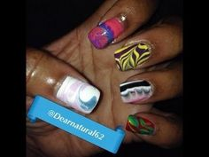 Dearnatural62 Water Marble Shout Out