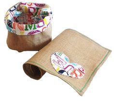 Panera/ Cesto Organizador O Pack 4 Individuales - $ 130,00 en MercadoLibre