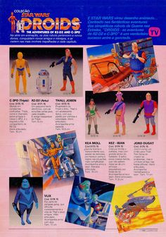 They had acquired the license to produce official Star Wars toys in Brazil in 1987 and the figures were sold on different cards than the ones offered ...