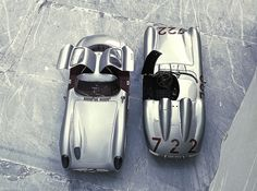 Mercedes-Benz 300SLR Coupé (W196) by Auto Clasico, via Flickr