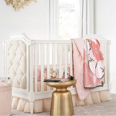 Get ready for your baby with a crib from Pottery Barn Kids. Shop high quality and safety-approved baby cribs, convertible cribs and more. Mattress Sets, Crib Mattress, Nursery Bedding, Girl Nursery, Nursery Ideas, Baby Bedding, Nursery Inspiration, Nursery Room, Extra Wide Dresser