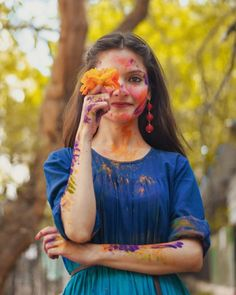 Holaeverybody, I hope all of you are doing great!Festivities is around the corner and like always I took out m Fashion Photography Poses, Girl Photography Poses, Happy Holi Picture, Holi Girls, Holi Pictures, Holi Party, Holi Special, Holi Colors, Festival Photography