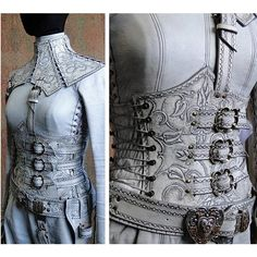 -Mord Sith, Legend of the Seeker. Sith Costume, Cosplay Costumes, Costume Blanc, Mens Leather Accessories, Celaena Sardothien, Biker Leather, Leather Armor, Fairy Clothes, Steampunk Costume