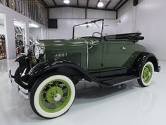Daniel Schmitt and Company presents: 1930 FORD MODEL A ROADSTER  AWARD-WINNING RESTORATION! AACA JUNIOR AND SENIOR WINNER! LONG-TERM OWNERSHIP WELL FURNISHED & OPTIONED RECENT FULL SERVICE PERFORMED