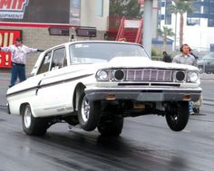 1964 Ford Falcon, Old Fords, Ford Fairlane, Crazy Kids, Drag Cars, Car Ford, Mustangs, Impala, Drag Racing