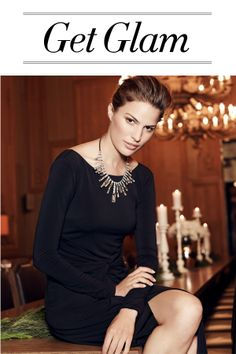 """Get glam for the holidays with Ann Taylor's Events Collection. Pin your favorite styles, along with inspiration for a glam event from Ann Taylor's """"Get Glam"""" board, AnnTaylor.com, or your own images and you could win a head-to-toe look!"""